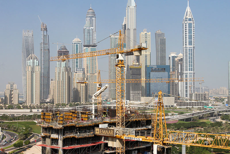Crane demand points to positive construction activity in the UAE