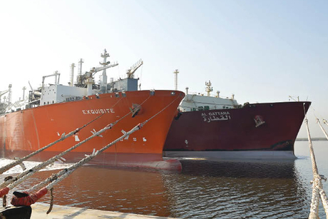 Pakistan receives first LNG cargo from Qatargas