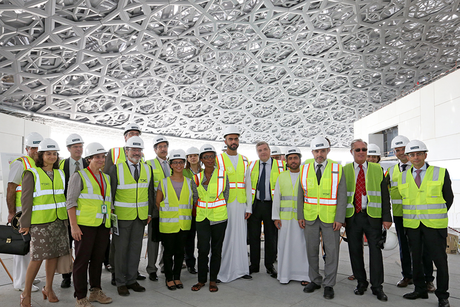TDIC hosts French officials for Louvre AD tour