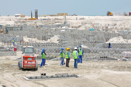 TDIC Mamsha Al Saadiyat construction work on track