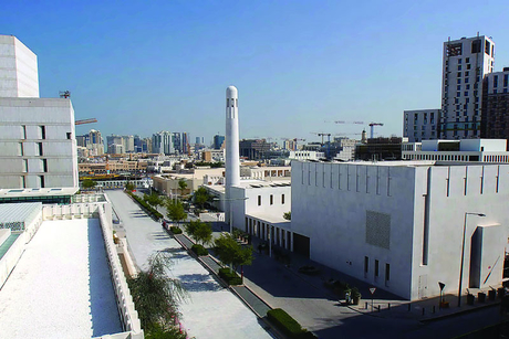 Msheireb Mosque in Downtown Doha opens for prayer