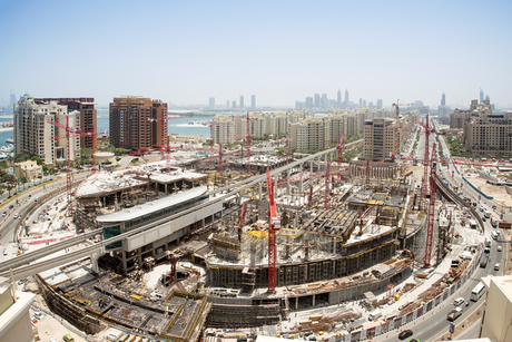 Construction halfway at Dubai's $326m Nakheel Mall