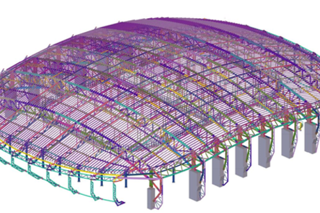 2018 Winter Olympics main arena designed using Tekla software