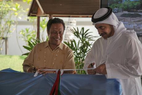 Palau unveils three Masdar-built solar projects