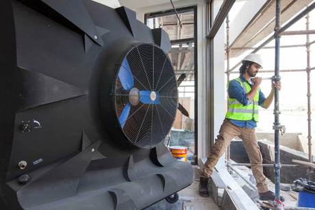 Increasing construction productivity during summer