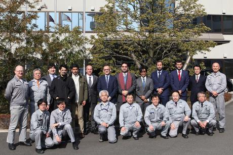 Qatar Rail sends Civil Defence engineers to Japan