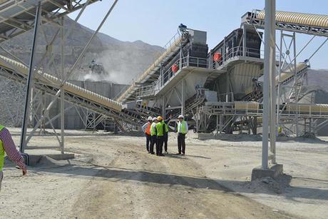 QPMC makes strategic site visits to UAE quarries