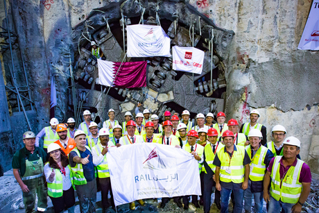 Doha Metro tunnelling on track to complete in 2016