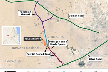 Two phases of Rawdat Rashed Road Project opened