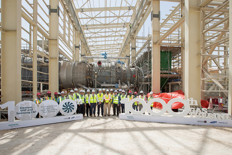 Siemens delivers its 1,000th gas turbine to Qatar