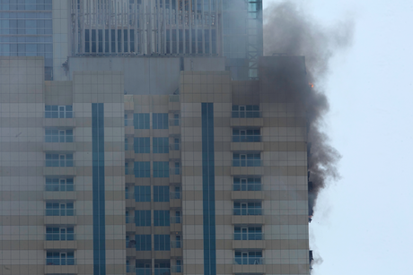 Dubai Marina blaze put out, no injuries reported