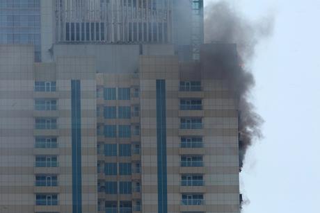 Dubai Marina blaze put out, no injuries reported