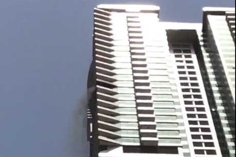 Fire reported at Tiger Tower in Dubai Marina