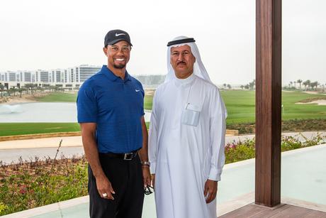 Tiger Woods visits Damac golf club, reviews plans