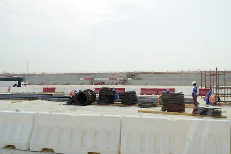 Al Wakrah Stadium above-ground work to begin soon