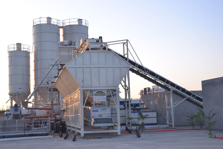 In Pictures: India's largest readymix plant