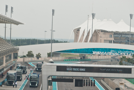 In pictures: Volvo Trucks at Yas Marina Circuit