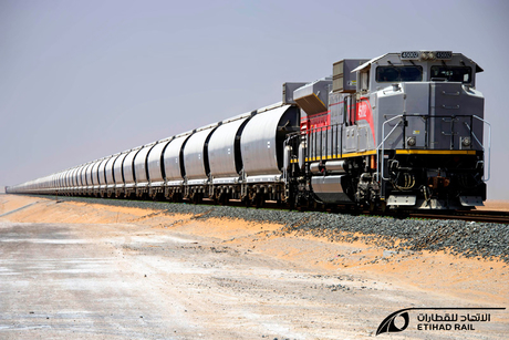 Bids resubmitted for UAE's Etihad Rail Stage Two