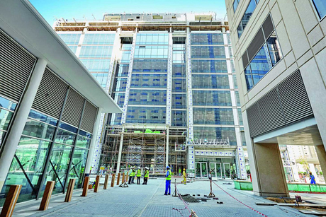 Site visit: Dubai Trade Centre district