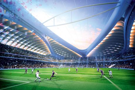 In pictures: Al Wakrah stadium, Qatar