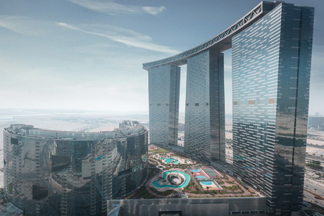 Handover of Abu Dhabi's iconic Gate Towers begins