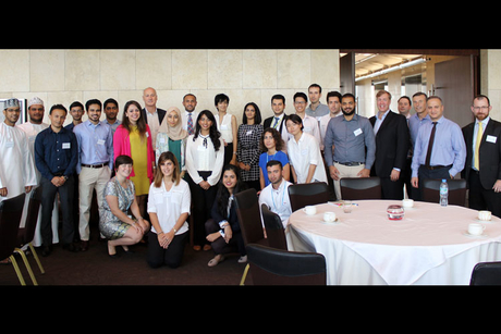 Atkins welcomes latest Middle East graduate intake