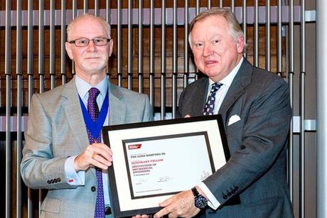 JCB's Lord Bamford receives top engineering honour