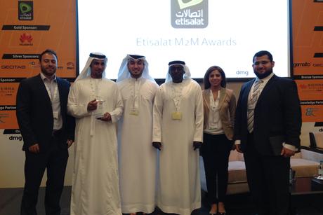 Bee'ah wins at the inaugural Etisalat M2M awards