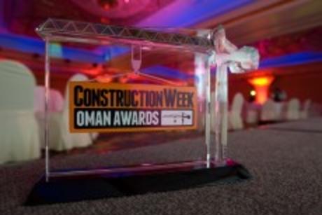 Construction Week Oman Awards 2014 winners