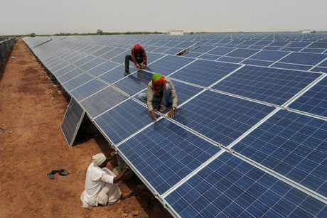 Dubai's Abraaj inks solar deal with India's Birla