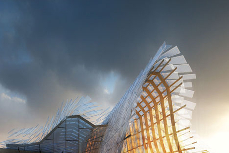 Companies combine for Chinese Expo 2015 pavilion