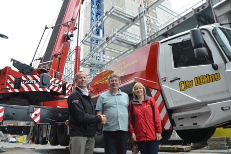 City Lifting buys UK's first Grove GMK6400 crane