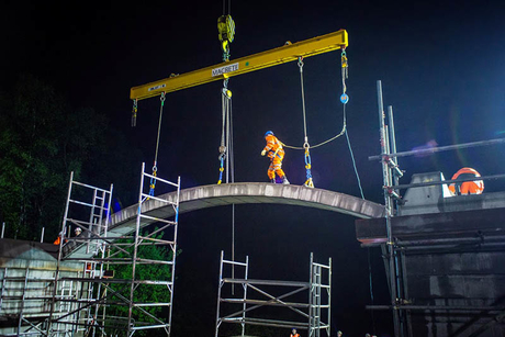 Belfast firm creates largest 'flat-pack' bridge