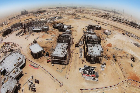 Dubai Parks and Resorts: Construction 50% complete