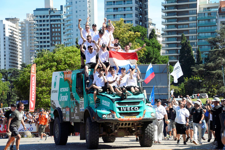 Iveco claims ultimate victory in Dakar Rally
