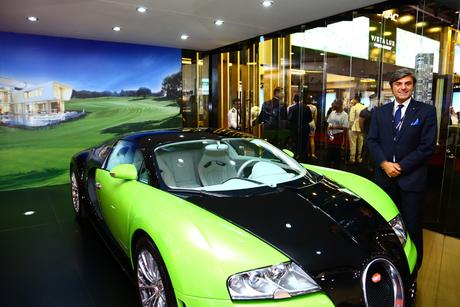 Bugatti MD visits Damac stand at Cityscape Global