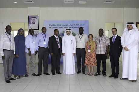 Kenyan delegation visits Bee'ah centre