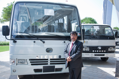 Eicher to launch 66-seater bus for the Middle East