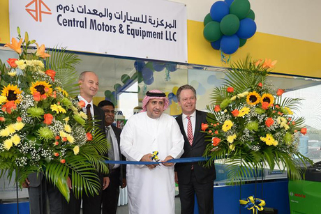 Michelin opens Abu Dhabi truck service centre