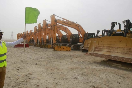 In pictures: Groundbreaking at Al Wakrah stadium
