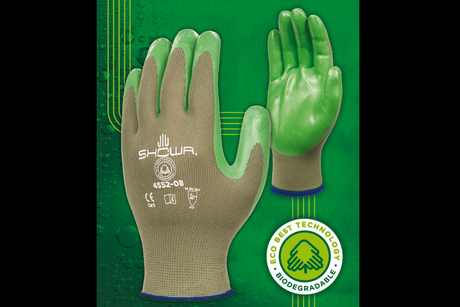 UK firm makes biodegradable construction glove