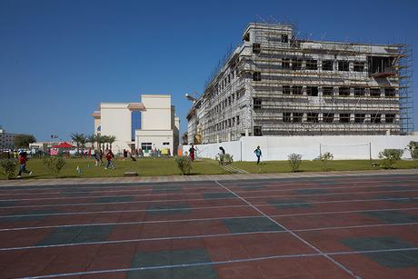 Site visit: Springdales School, Dubai