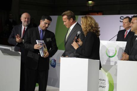 Al Tayer meets Schwarzenegger