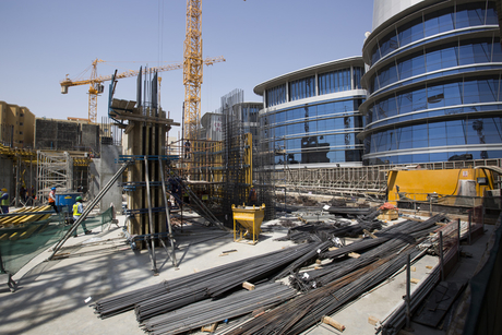 In Pictures: Holiday Inn Doha construction site