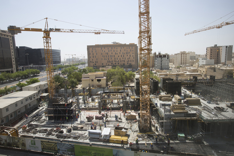 Video: Holiday Inn Doha construction site