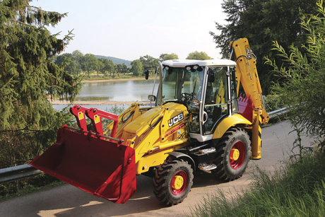 JCB celebrates 70th with limited edition backhoe