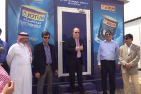 Jotun opens Saudi technical services site office