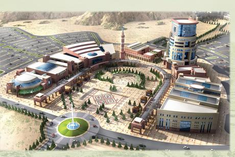 Site visit: King Khalid University, Abha