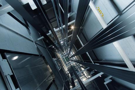 Elevator installation prep begins at Kingdom Tower