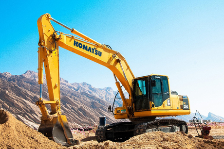 GTHE launches Komatsu PC200-8MO excavator in UAE